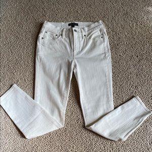 """J Crew 8"""" Midrise Skinny Denim Jeans"""